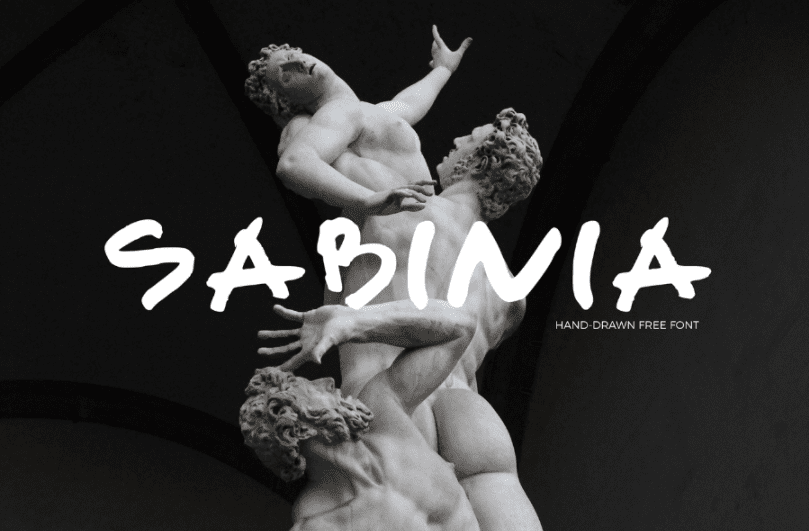 Sabinia Free Handwriting Fonts