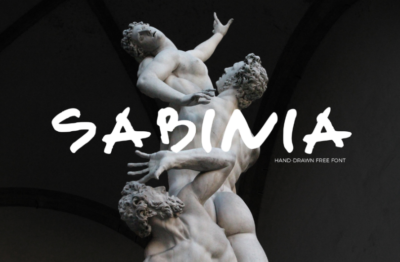 Sabinia Free Handwriting Fonts
