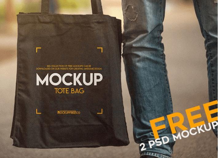 Tote Bag PSD MockUp Template