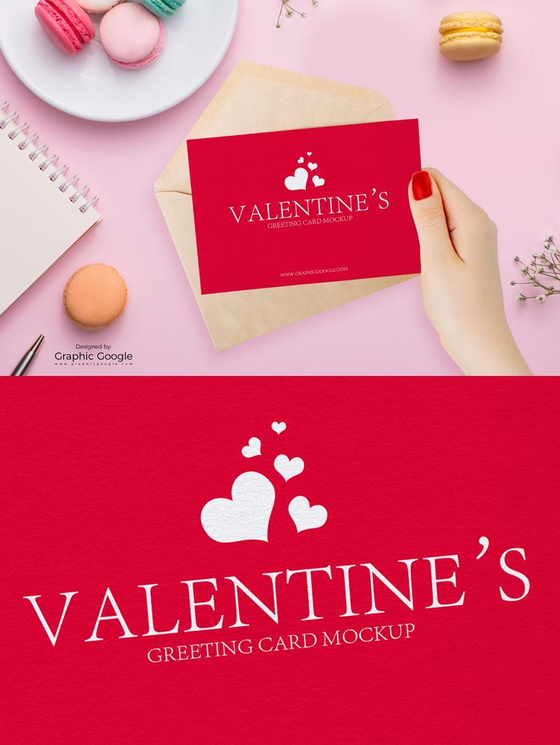 Valentine Greeting Cards Free Mockup Responsive Joomla And