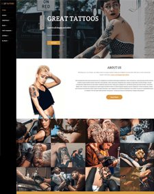 LT Tattoo – Free Responsive artist wordpress theme
