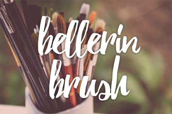 Bellerine Handmade Brush Font