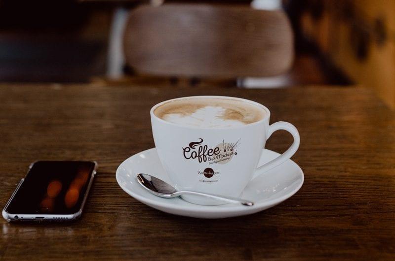 Coffee Cup PSD MockUp Template - LTHEME