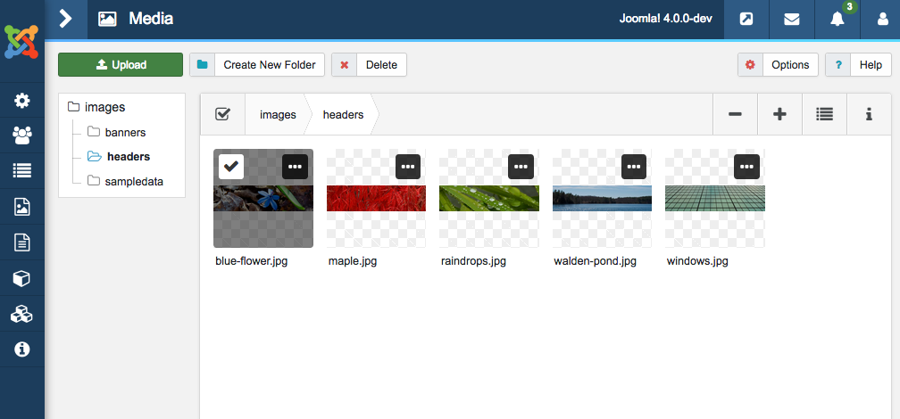 joomla backend templates - what interesting in the 8 newest features of joomla 4