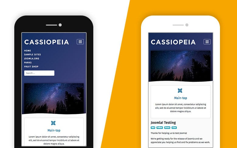 Introduce Cassiopeia – Joomla 4 New Frontend template