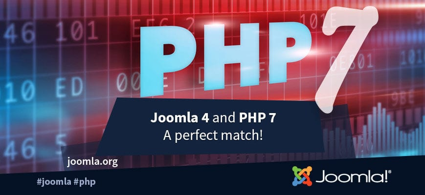 Joomla 4 is on its way: Reasons to upgrade PHP 7