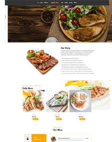 LT BBQ Single Page – Free Responsive Onepage BBQ WordPress Theme