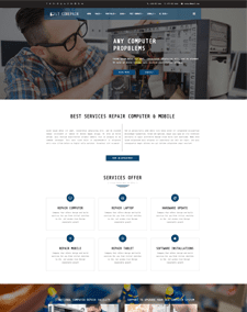 LT CoRepair – Free Responsive business wordpress themes