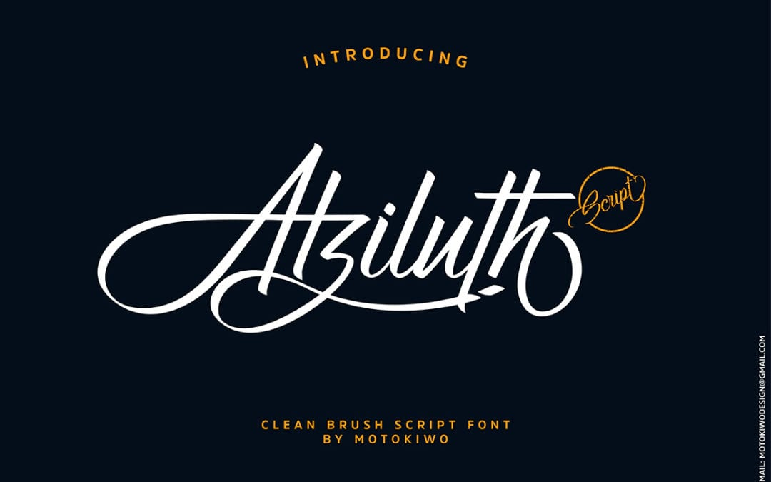 atziluth brush script typeface responsive joomla and wordpress themes. Black Bedroom Furniture Sets. Home Design Ideas