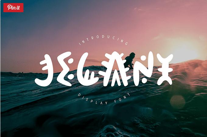 Jelani Unique Free Display Fonts