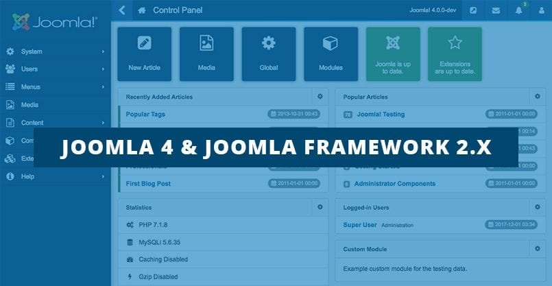Joomla 4 and Framework 2 – More things you should know about PHP Requirements