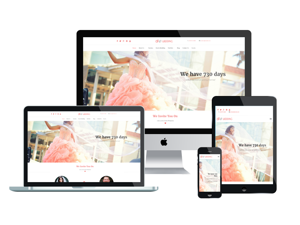 LT Wedding - Best Wedding WordPress Themes