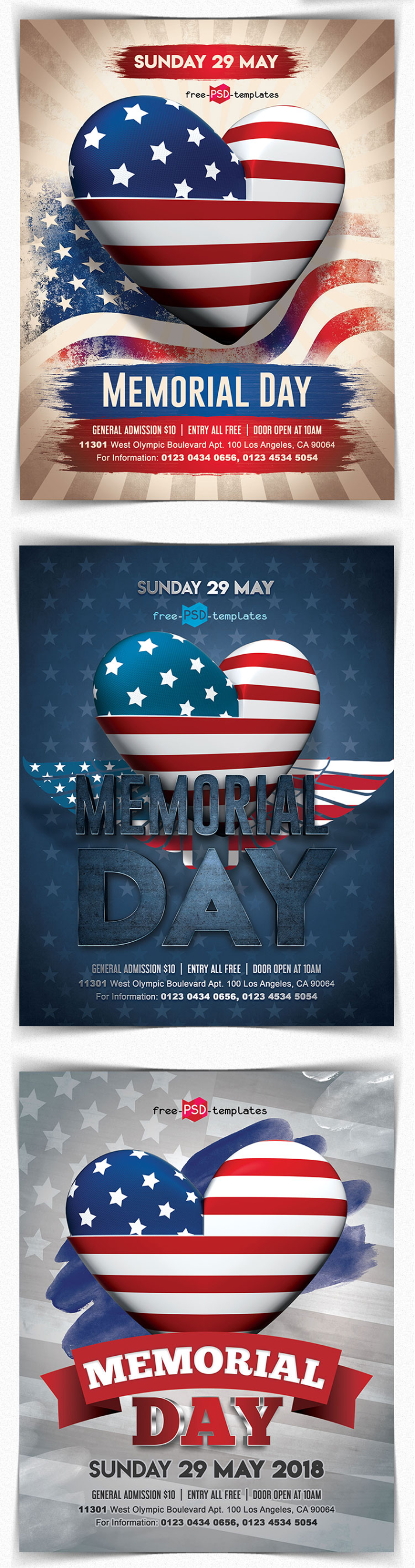 memorial day flyer template free download responsive joomla and