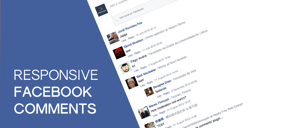 Responsive Facebook Comments Joomla Social Comments Extensions