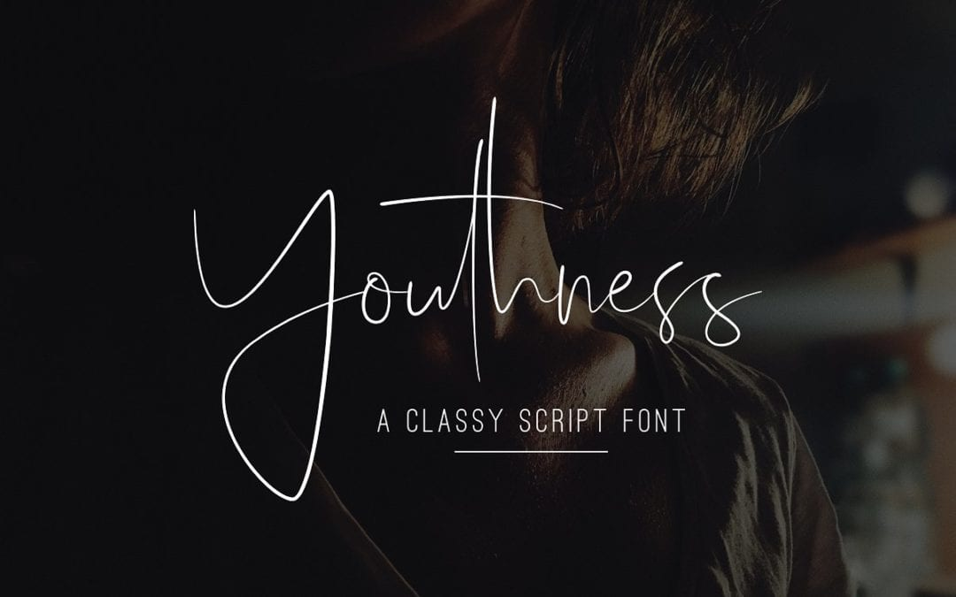Youthness Modern Script Typeface