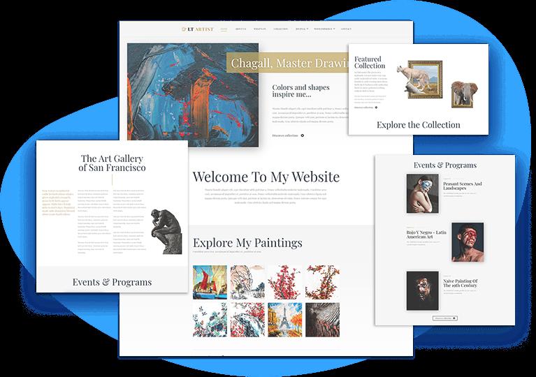 lt-artist-responsive-joomla-template-home