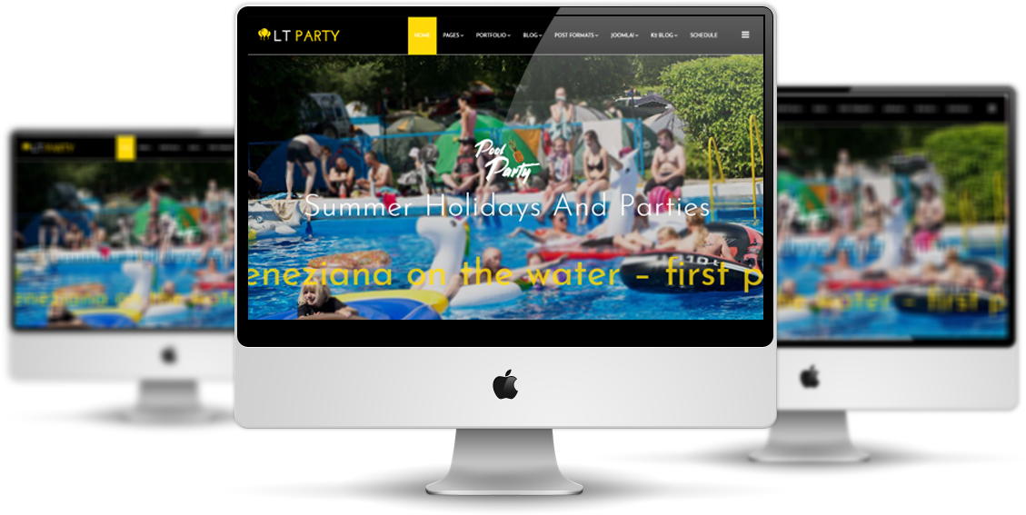 LT Party - Premium Private Joomla Party Template
