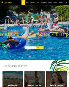 LT Party Onepage – Free Single Page Responsive Joomla Party Template