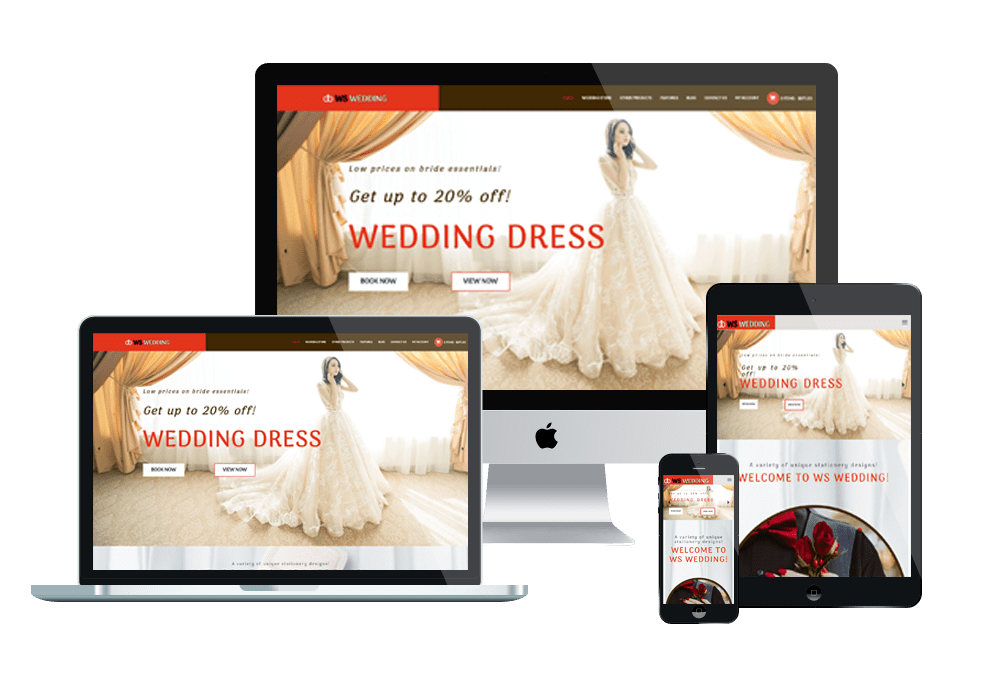 WS Wedding – Responsive Wedding WooCommerce WordPress theme