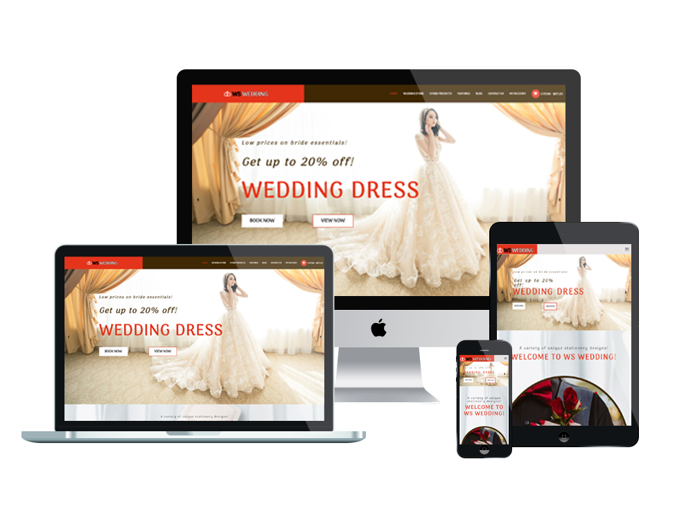 WS Wedding – Best Wedding WordPress Themes