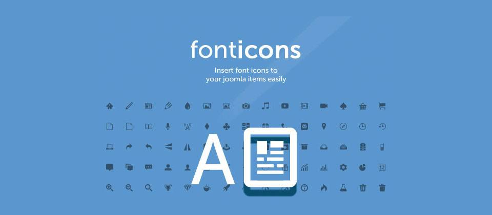 Fonticons (Free download)