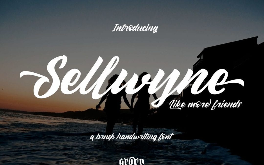 Sellwyne Beautiful Script Fonts