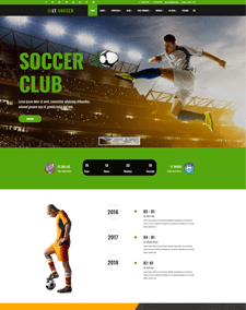LT Soccer – Free Responsive WordPress Football theme