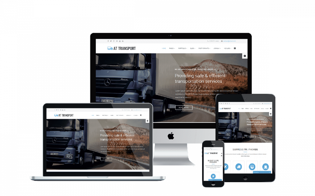 Top 4 Best Joomla Transport Company Website Template In 2020