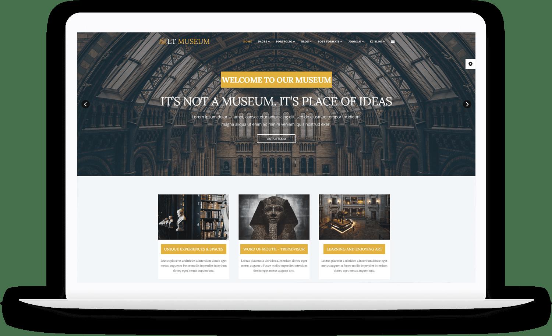 LT-Museum-Joomla-template
