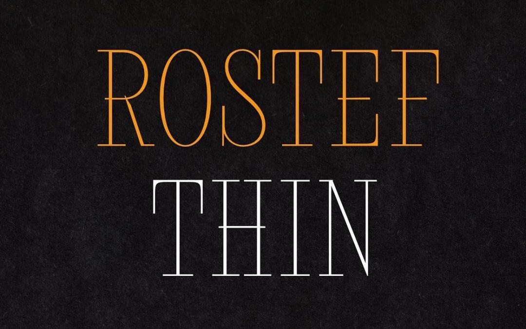 Rostef Thin Elegant Font