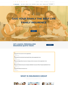 LT Insurance – Free Responsive business joomla template