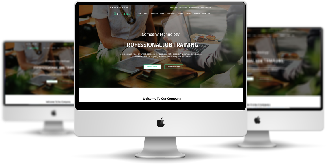 LT Office - Premium Private Joomla Company theme