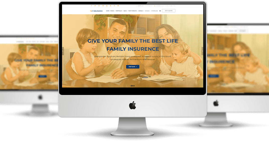 Top Best Joomla! Insurance Agent Website Templates