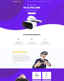 LT Virtual Onepage – Free Single Page Joomla Virtual Reality theme