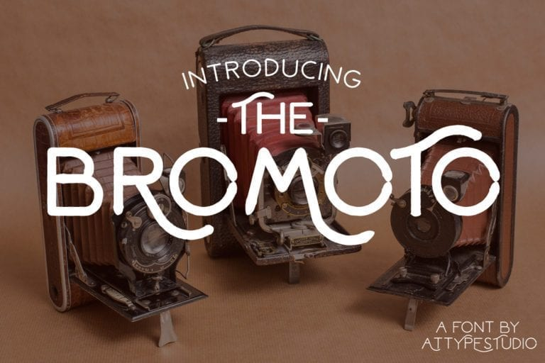 Bromoto Free Unique Fonts