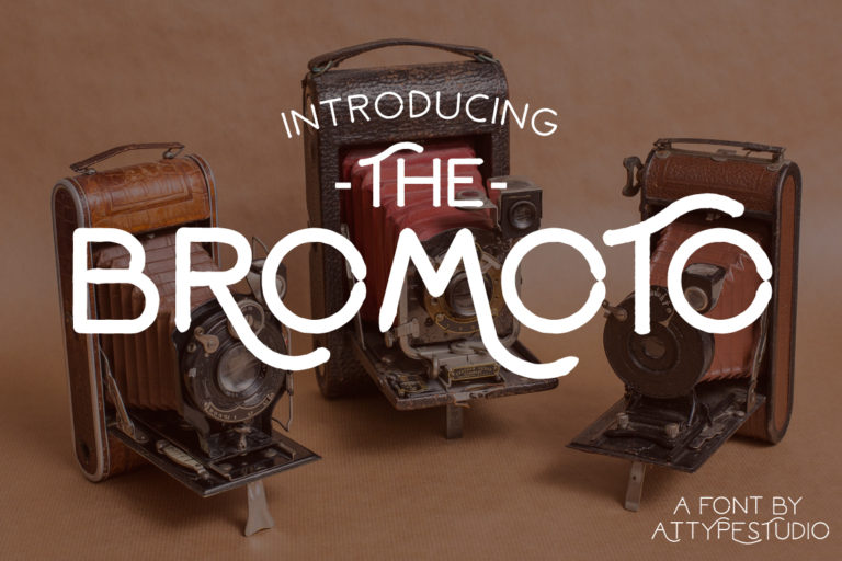 Bromoto Free Unique Fonts 1