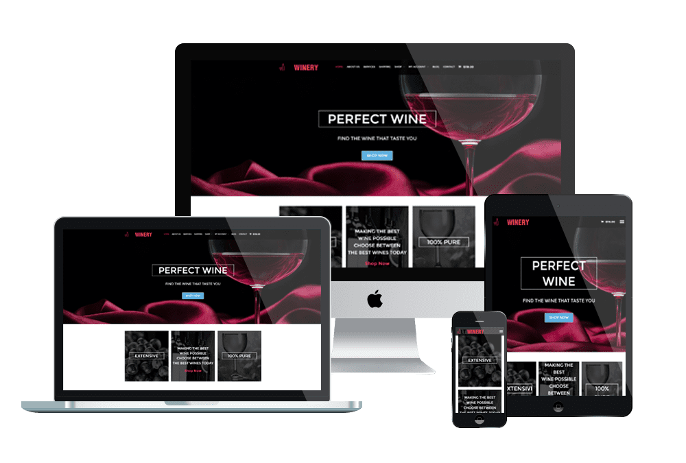 Collection Of Best Wine Shop WordPress Theme In 2020