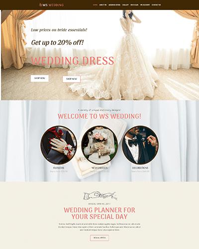 WS Wedding – Responsive Wedding WooCommerce WordPress theme