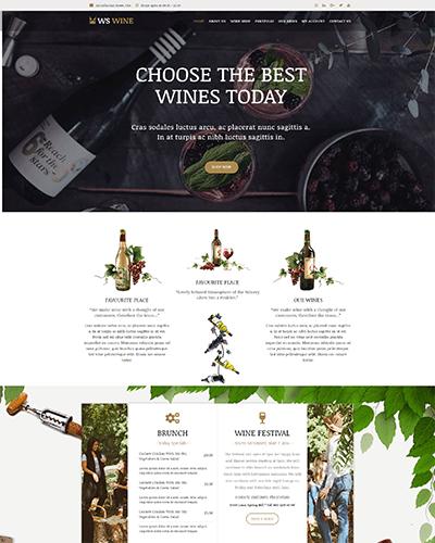 WS Wine – Responsive Wine Store WooCommerce WordPress theme