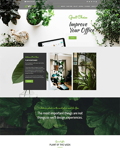 WS Plant – Responsive Garden WooCommerce WordPress theme
