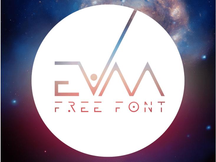 Evaa Free Display Fonts