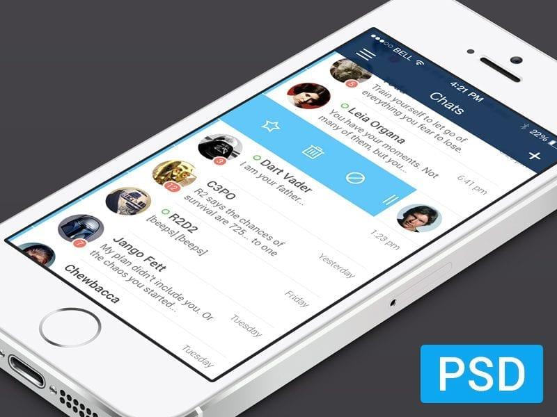 Free Messenger App For iOS7