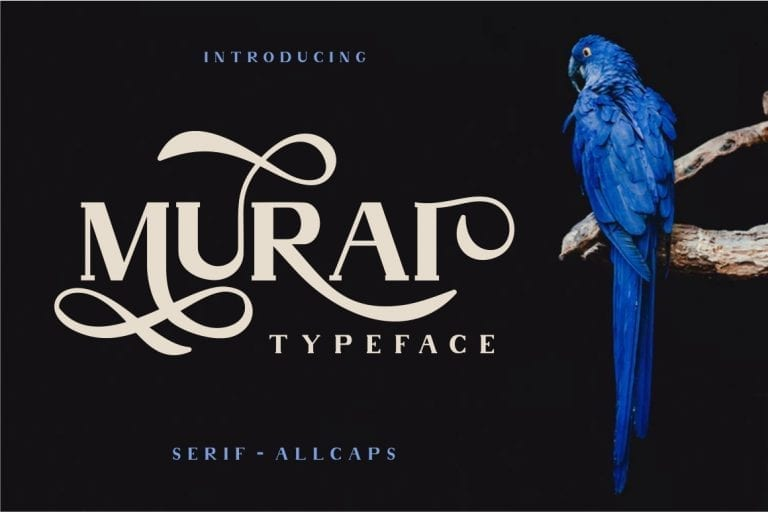 Murai Serif Display Fonts