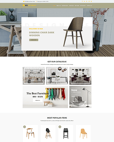 WS Interior – Responsive Interior Design WordPress theme