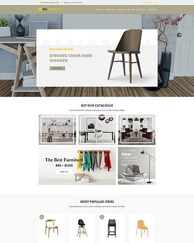 WS Interior – Responsive Interior Design WordPress theme