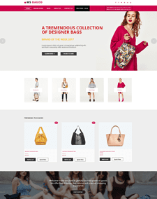 WS Bagod – Responsive Handbag WooCommerce WordPress theme