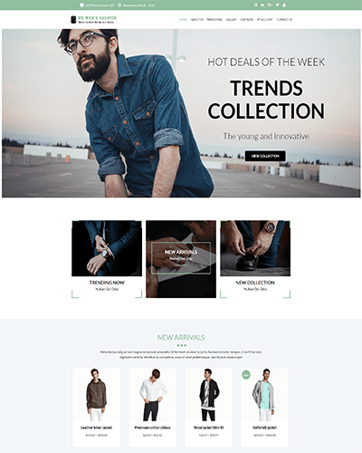 WS Men's Fashion – Responsive Fashion Store WooCommerce WordPress theme