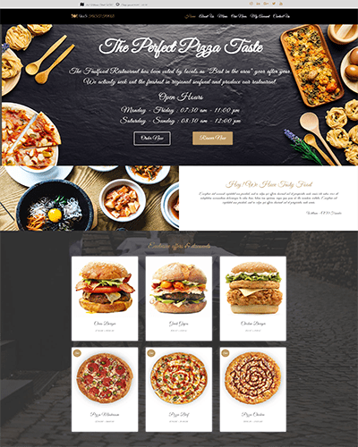WS Fast Food – Responsive food wordpress theme free