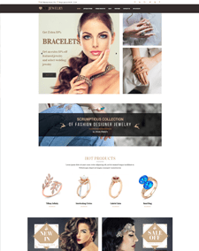 WS Jewelry – Responsive Diamond Store WooCommerce WordPress theme