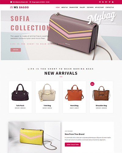 WS Bagod – Responsive Fashion WooCommerce WordPress theme